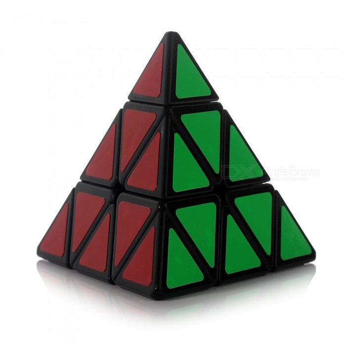 MoYu 100mm Pyramid Shape Smooth Speed Magic Cube Puzzle ToyMagic IQ Cubes<br>Form  ColorPyramid (100mm)ModelN/AMaterialABSQuantity1 DX.PCM.Model.AttributeModel.UnitTypeOthersSuitable Age 3-4 years,5-7 years,8-11 years,12-15 years,Grown upsPacking List1 x Magic Cube<br>