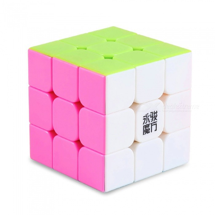 YJ YuLong 57mm 3x3x3 Smooth Speed Magic Cube Puzzle Toy - MulticolourMagic IQ Cubes<br>Form  ColorMulticolour (57mm)ModelN/AMaterialABSQuantity1 pieceType3x3x3Suitable Age 3-4 years,5-7 years,8-11 years,12-15 years,Grown upsPacking List1 x Magic Cube<br>