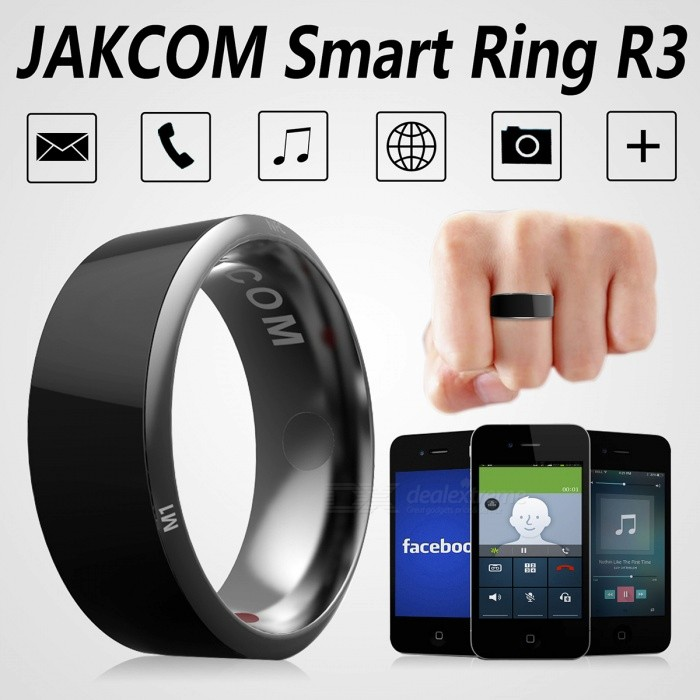 Jakcom R3 Smart Ring Electronic CNC Metal Mini Magic Ring with IC / ID / NFC Card Reader for NFC Mobile Phones - Black (Size 7)Other Wearable Devices<br>Form  ColorBlack (Size 7)ModelR3Quantity1 DX.PCM.Model.AttributeModel.UnitMaterialLiquid Tungsten, Epoxy Crystal CeramicWater-proofOthers,Life WaterproofBluetooth VersionNoCompatible OSonly support NFC-enabled phone (android or Windows phone system)Battery Capacity/ DX.PCM.Model.AttributeModel.UnitBattery TypeOthers,/Standby Time/ DX.PCM.Model.AttributeModel.UnitPacking List1 x Jakcom R3 NFC Smart Ring<br>