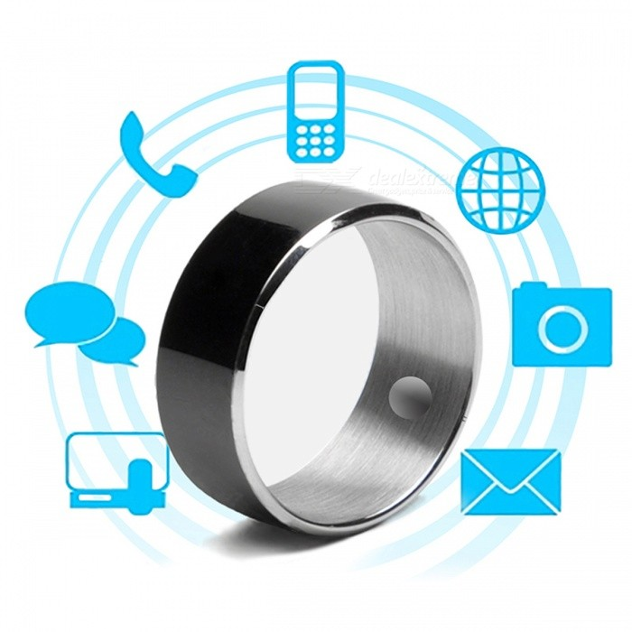 Jakcom R3F Smart Ring for High Speed NFC Electronics Phone Smart Accessories - Black (Size 9)Other Wearable Devices<br>Form  ColorBlack (Size 9)ModelR3FQuantity1 DX.PCM.Model.AttributeModel.UnitMaterialLiquid Tungsten, Epoxy Crystal CeramicWater-proofOthers,Life WaterproofBluetooth VersionNoCompatible OSOnly support NFC-enabled phone,And android or Windows phone systemBattery Capacity/ DX.PCM.Model.AttributeModel.UnitBattery TypeOthers,/Standby Time/ DX.PCM.Model.AttributeModel.UnitPacking List1 x Smart Ring<br>