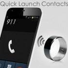Jakcom R3F Smart Ring for High Speed NFC Electronics Phone Smart Accessories - Black (Size 7)