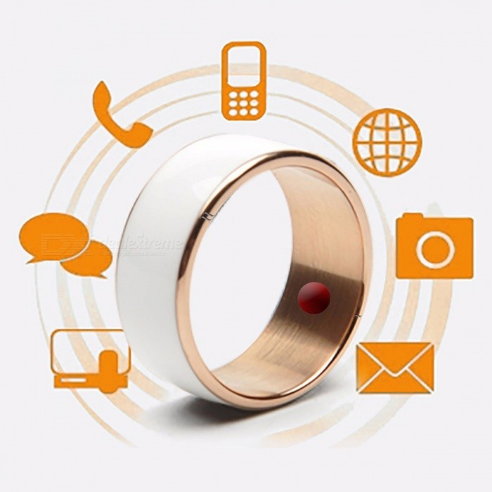 Jakcom R3F Smart Ring for High Speed NFC Electronics Phone Smart Accessories - White (Size 11)Other Wearable Devices<br>Form  ColorWhite (Size 11)ModelR3FQuantity1 DX.PCM.Model.AttributeModel.UnitMaterialLiquid Tungsten, Epoxy Crystal CeramicWater-proofOthers,Life WaterproofBluetooth VersionNoCompatible OSOnly support NFC-enabled phone, And android or Windows phone systemBattery Capacity/ DX.PCM.Model.AttributeModel.UnitBattery TypeOthers,/Standby Time/ DX.PCM.Model.AttributeModel.UnitPacking List1 x Smart Ring<br>