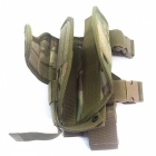 Multi-functional Tactical Leg Wrappings Gun Holster - CP Camouflage