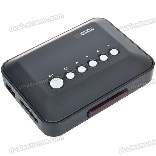 1080P Full HD Media Player with YPbPr/AV/HDMI/USB/SD/MMC