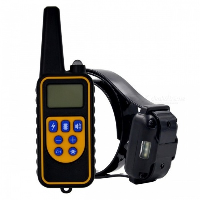 800m Rechargeable & Waterproof Dog Training Collar (EU Plug)