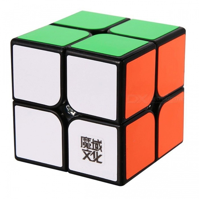 MoYu LingPo 50mm 2x2x2 Smooth Speed Magic Cube Puzzle Toy for Kids, Adults - BlackMagic IQ Cubes<br>Form  ColorBlack (50mm)ModelN/AMaterialABSQuantity1 DX.PCM.Model.AttributeModel.UnitTypeOthers,2X2X2Suitable Age 3-4 years,5-7 years,8-11 years,12-15 years,Grown upsPacking List1 x Magic Cube<br>