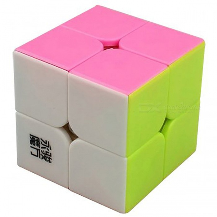 YJ YuPo 50mm 2x2x2 Smooth Speed Magic Cube Puzzle Toy for Kids, Adults - Multicolor