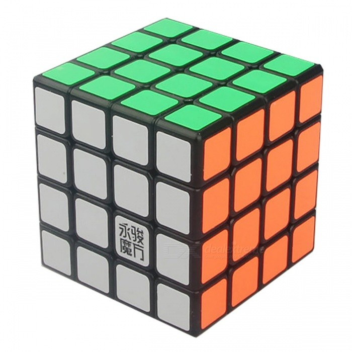 MoYu GuanShu 62mm 4x4x4 Smooth Speed Magic Cube Puzzle Toy for Kids, Adults - BlackMagic IQ Cubes<br>Form  ColorBlack (62mm)ModelN/AMaterialABSQuantity1 DX.PCM.Model.AttributeModel.UnitType4x4x4Suitable Age 3-4 years,5-7 years,8-11 years,12-15 years,Grown upsPacking List1 x Magic Cube<br>