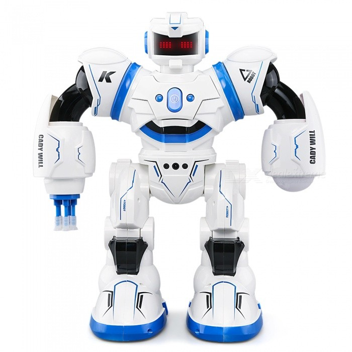 JJRC R3 CADY WILL Sensor Control Intelligent Combat Dancing Gesture RC Robot Toy - BlueR/C Airplanes&amp;Quadcopters<br>Form  ColorSapphire BlueModelR3MaterialABSQuantity1 DX.PCM.Model.AttributeModel.UnitShade Of ColorBlueGyroscopeYesChannels QuanlityOthers,Forward, back DX.PCM.Model.AttributeModel.UnitFunctionRight,Forward,Backward,Stop,HoveringRemote TypeRadio ControlRemote control frequency2.4GHzRemote Control Range30-40 DX.PCM.Model.AttributeModel.UnitSuitable Age 9-12 months,13-24 months,12-15 years,Grown upsCameraNoCamera PixelNoLamp YesBattery TypeLi-ion batteryBattery Capacity600 DX.PCM.Model.AttributeModel.UnitCharging Time120-150 DX.PCM.Model.AttributeModel.UnitWorking Time120 DX.PCM.Model.AttributeModel.UnitRemote Controller Battery TypeAARemote Controller Battery Number2 (Not Included)Remote Control TypeWirelessModelMode 2 (Left Throttle Hand)CertificationCEPacking List1 x JJRC Cady Will Robot Toy1 x Charging Cable1 x Manual1 x Remote control<br>