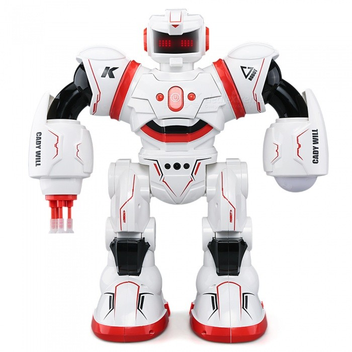 JJRC R3 CADY WILL Sensor Control Intelligent Combat Dancing Gesture RC Robot Toy - Red