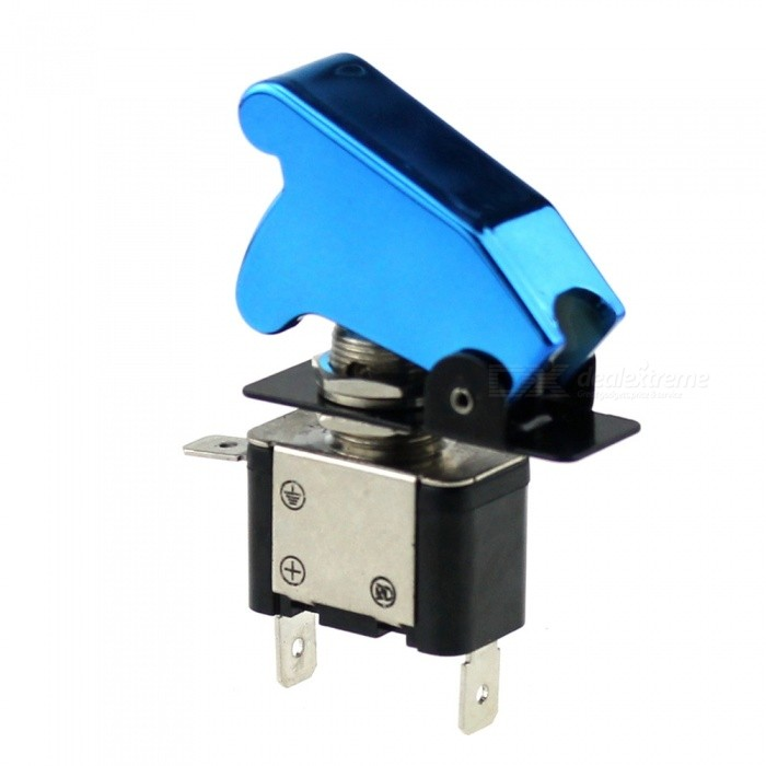 IZTOSS S2770 12V 20A Car Ignition Button Switch with Air Cover, Indicator Light - BlueCar Switches<br>Form  ColorLake Blue + BlackModelS2770Quantity1 DX.PCM.Model.AttributeModel.UnitMaterialABS anti-uv raw materialIndicator LightYesRate Voltage12Rated Current20 DX.PCM.Model.AttributeModel.UnitPacking List1 x Switch<br>