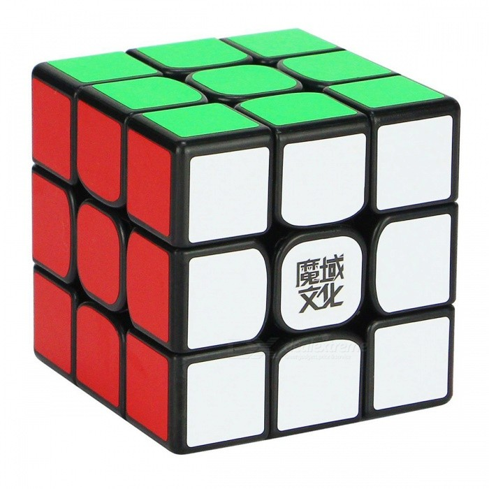 MoYu WeiLong 56mm 3x3x3 Smooth Speed Magic Cube Puzzle Toy - BlackMagic IQ Cubes<br>Form  ColorBlack (56mm)ModelN/AMaterialABSQuantity1 DX.PCM.Model.AttributeModel.UnitType3x3x3Suitable Age 3-4 years,5-7 years,8-11 years,12-15 years,Grown upsPacking List1 x Magic Cube<br>