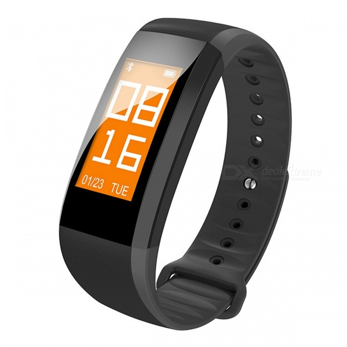 M99 Color Screen Smart Bracelet with Real-time Heart Rate Monitor - Black