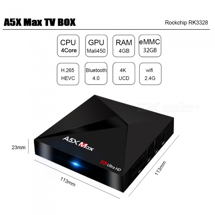 A5x max android tv box