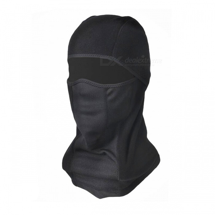 Outdoor Unisex Breathable Sports Headgear Head Hood Cover - Black - Free  Shipping - DealExtreme 36ddcacbabfc