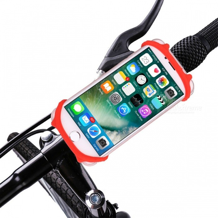 Anti-Drop Bicycle Mount Silicone Phone Holder for 4-6 Inch Phones - RedBike Holder<br>Form  ColorRedQuantity1 DX.PCM.Model.AttributeModel.UnitMaterialSiliconeBest UseCycling,Mountain Cycling,Recreational Cycling,Road Cycling,Bike commuting &amp; touringTypePannier Racks &amp; Bike Racks,Phone HoldersPacking List1 x Bike holder<br>