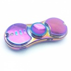 Mini Portable Multi-functional Rechargeable Lighter, Finger Toy Spinner Gyro - Purple