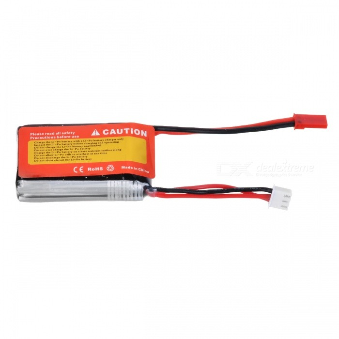 ENGPOW 2S 7.4V 900mAh 25C Li-Po Battery with JST Plug for WLtoys 912 RC Helicopter Quadcopter