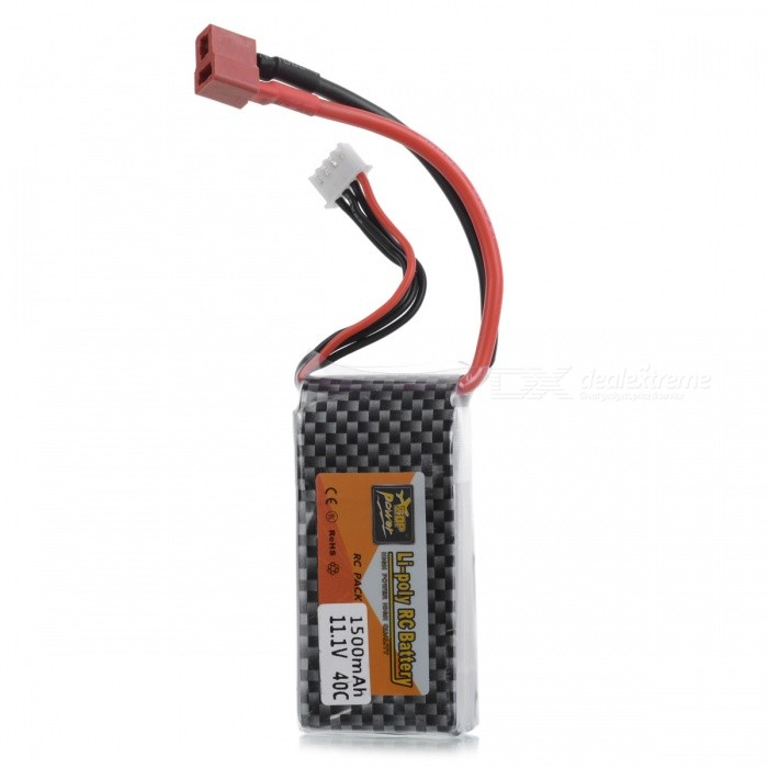 ENGPOW 11.1V 25C 1500mAh Lipo RC Rechargeable Battery with T-Plug Connector for RC Airplane