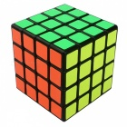 YJ YuSu 62mm 4x4x4 Smooth Speed Magic Cube Puzzle Toy - Black
