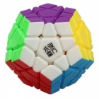 YJ YuHu 33x33x67mm Megaminx Smooth Speed Magic Cube Puzzle Toy - Multicolor