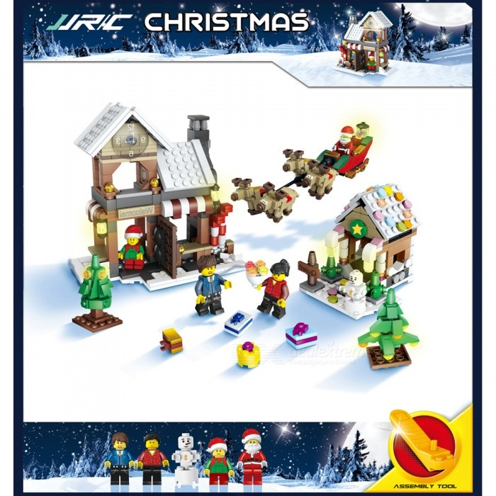 JJRC 1001 741Pcs Christmas Santa Claus Elk Building Blocks Educational Gift for ChildrenBlocks &amp; Jigsaw Toys<br>Form  ColorPattern 1 (741Pcs)Model1001MaterialABSQuantity1 DX.PCM.Model.AttributeModel.UnitShade Of ColorMulti-colorGyroscopeNoChannels QuanlityOthers,NO DX.PCM.Model.AttributeModel.UnitFunctionOthers,NORemote TypeOthers,NORemote control frequencyOthers,NORemote Control Range0 DX.PCM.Model.AttributeModel.UnitSuitable Age 6-9 months,9-12 months,13-24 months,8-11 years,12-15 years,Grown upsCameraNoCamera PixelNoLamp NoBattery TypeOthers,NOBattery CapacityN0 DX.PCM.Model.AttributeModel.UnitCharging TimeN0 DX.PCM.Model.AttributeModel.UnitWorking TimeN0 DX.PCM.Model.AttributeModel.UnitRemote Controller Battery TypeOthers,N0Remote Controller Battery NumberN0Remote Control TypeOthers,N0ModelOthers,N0CertificationCEPacking List1 Set x Building block<br>