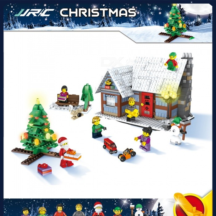 JJRC 1002 936Pcs Christmas Village System Building Blocks Educational Gift for ChildrenBlocks &amp; Jigsaw Toys<br>Form  ColorPattern 2 (936Pcs)Model1002MaterialABSQuantity1 DX.PCM.Model.AttributeModel.UnitShade Of ColorMulti-colorGyroscopeNoChannels QuanlityOthers,NO DX.PCM.Model.AttributeModel.UnitFunctionOthers,NORemote TypeOthers,NORemote control frequencyOthers,NORemote Control Range0 DX.PCM.Model.AttributeModel.UnitSuitable Age 6-9 months,9-12 months,13-24 months,8-11 years,12-15 years,Grown upsCameraNoCamera PixelNoLamp NoBattery TypeOthers,NOBattery CapacityN0 DX.PCM.Model.AttributeModel.UnitCharging TimeN0 DX.PCM.Model.AttributeModel.UnitWorking TimeN0 DX.PCM.Model.AttributeModel.UnitRemote Controller Battery TypeOthers,N0Remote Controller Battery NumberN0Remote Control TypeOthers,N0ModelOthers,N0CertificationCEPacking List1 Set x Building block<br>