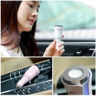 Mini Portable Car Aromatherapy Diffuser with Dual Power USB Quick Car Charger - Black