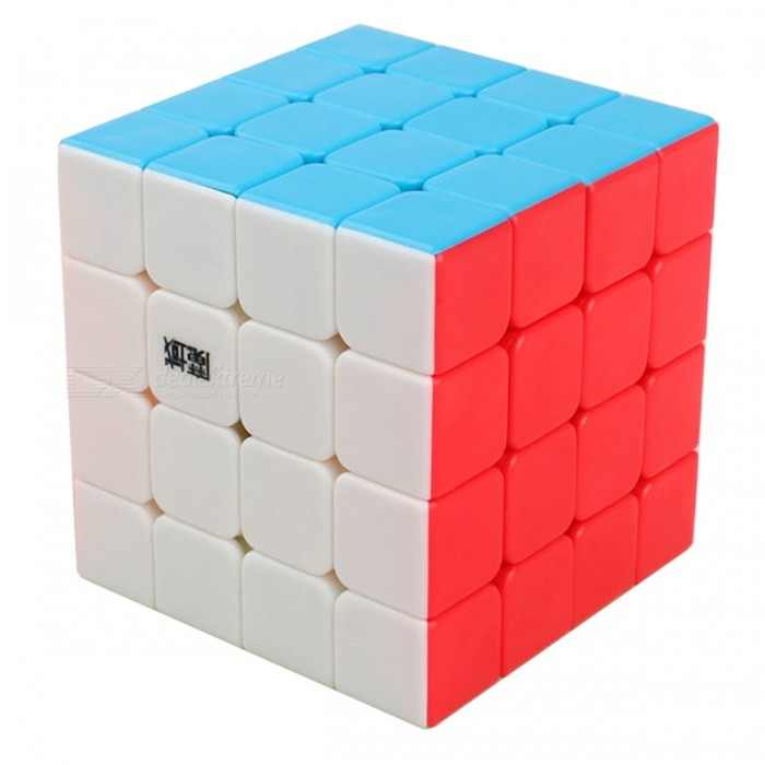 MoYu AoSu 62mm 4x4x4 Smooth Speed Magic Cube Puzzle Toy for Kids, Adults - MulticolorMagic IQ Cubes<br>Form  ColorFluorescence Multicolor (62mm)ModelN/AMaterialABSQuantity1 pieceType4x4x4Suitable Age 3-4 years,5-7 years,8-11 years,12-15 years,Grown upsPacking List1 x Magic Cube<br>