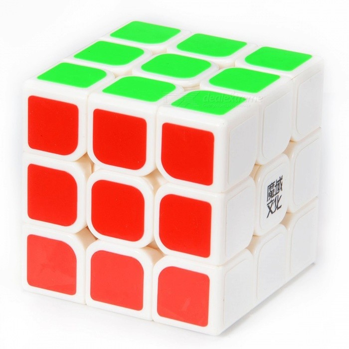 Moyu Aolong 57mm 3x3x3 Smooth Speed Magic Cube Puzzle Toy for Children, Adults - WhiteMagic IQ Cubes<br>Form  ColorWhite (57mm)ModelN/AMaterialABSQuantity1 DX.PCM.Model.AttributeModel.UnitType3x3x3Suitable Age 3-4 years,5-7 years,8-11 years,12-15 years,Grown upsPacking List1 x Magic Cube<br>