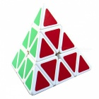 MoYu Pyraminx Edge 100mm Smooth Speed Magic Cube Puzzle Toy for Kids, Adults - White