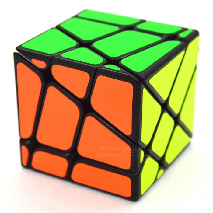 MoYu Crazy Fisher 57mm Smooth Speed Magic Cube Puzzle Toy for Kids, Adults - BlackMagic IQ Cubes<br>Form  ColorBlack (57mm)ModelN/AMaterialABSQuantity1 DX.PCM.Model.AttributeModel.UnitTypeOthers,57mmSuitable Age 3-4 years,5-7 years,8-11 years,12-15 years,Grown upsPacking List1 x Magic Cube<br>