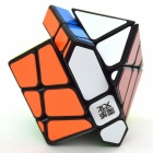 MoYu Crazy Fisher 57mm Smooth Speed Magic Cube Puzzle Toy for Kids, Adults - Black
