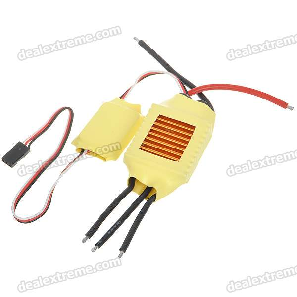 50A ESC Brushless Electric Speed Controller for R/C Car mystery speed controller 50a bec for brushless motors 300 450 r c helicopters