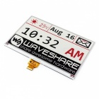 "Waveshare 640x384 7.5"" Three-Color E-Ink Raw Display with SPI Interface, Without PCB"