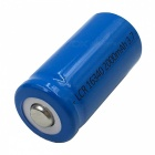 ZHAOYAO 8PCS 3.7V 2000mAh 16340 Li-ion Batteries with US Plug Power Adapter Charger - Blue