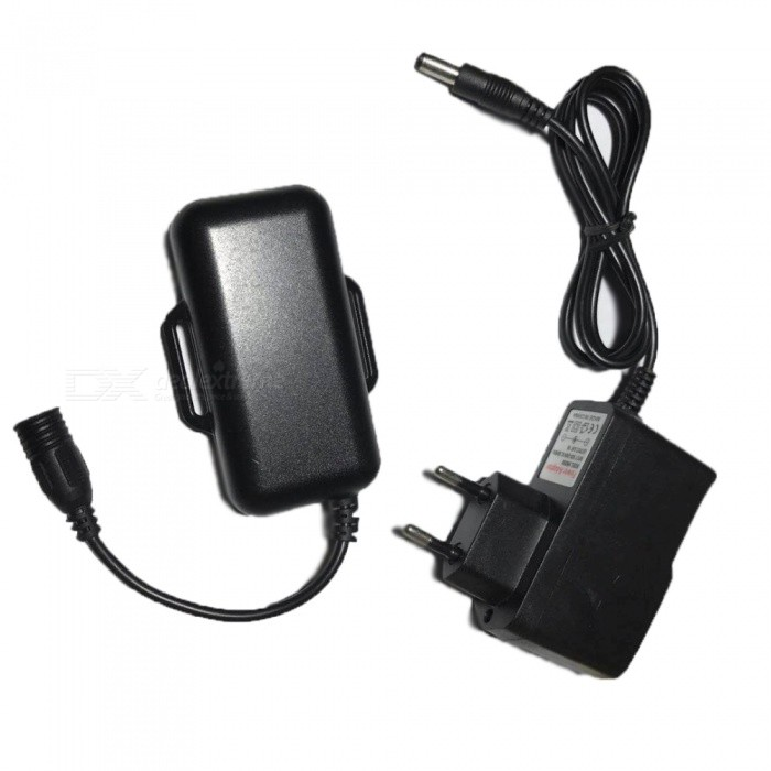 SPO Rechargeable 2 x 18650 Spare Battery Pack for Outdoor Cycling - Black