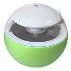 SPO Mini Household Ball Shaped USB Night Light Humidifier - Green
