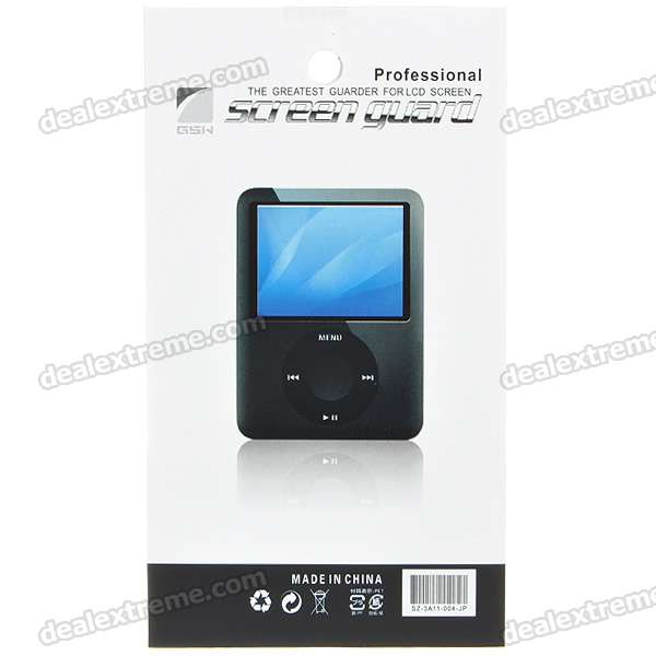 Matte Screen Protector with Cleaning Cloth for iPod Nano 6