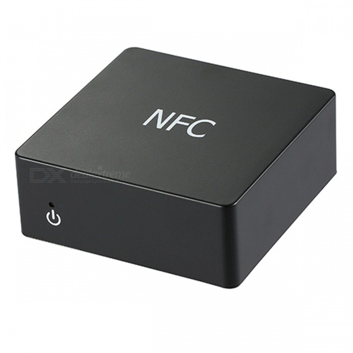 Portable Bluetooth Receiver Adapter with Digital Fiber Coaxial Output