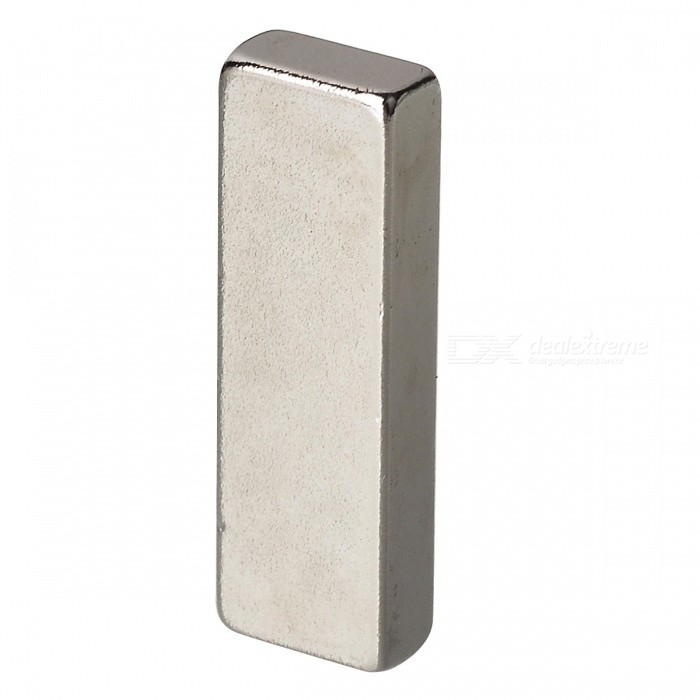 30mm*10mm*5mm Rectangle NdFeB Neodymium Magnet for DIY - SilverMagnets Gadgets<br>Form  ColorSilverQuantity1 DX.PCM.Model.AttributeModel.UnitNumber1MaterialNdFeBSuitable Age Grown upsPacking List1 x Magnet<br>