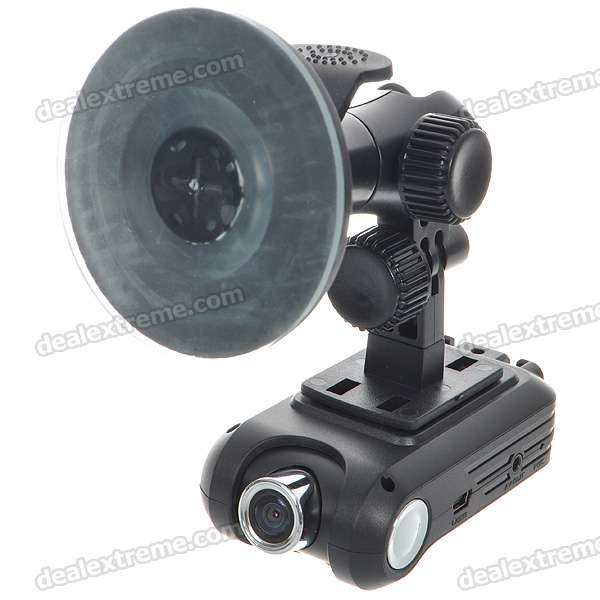 5.0MP CMOS 720P HD Digital Car DVR Camcorder w/ TF Slot