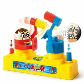 Hammering Contest Battle Game Toy for Two Persons - Yellow