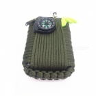 29-in-1 Multi-function Outdoor Camping Survival Tool Kit - Army Green