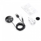 T851 Portable Car Bluetooth Transmitter - Black