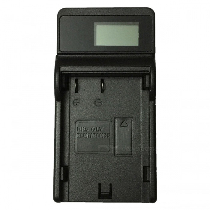 Ismartdigi BLM1 LCD USB Mobile Camera Battery Charger for Olympus BLM1 E-300 E-500 C-8080 C7070 C5060 - BlackChargers<br>Form  ColorBlackPower AdapterUSBModelBLM1 LCD U CMaterialPlastic shellQuantity1 DX.PCM.Model.AttributeModel.UnitShade Of ColorBlackCompatible BrandOlympusCompatible ModelsBLM1 E-300 E-500 C-8080 C7070 C5060Compatible Battery ModelBLM1Output Current0.6 DX.PCM.Model.AttributeModel.UnitInput VoltageOthers,5 DX.PCM.Model.AttributeModel.UnitOutput VoltageOthers,8.4 DX.PCM.Model.AttributeModel.UnitOther FeaturesMicro USB Mobile Charger (DC charging and mobile power supply)Packing List1 x Charger 1 x Micro USB Cable (Length: 30cm)<br>