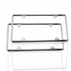 IZTOSS Automobile Car Zinc Alloy License Plate Frame Cover for American Standard Size
