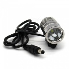 ZHAOYAO L2 Mini Stainless Steel 1-LED 4-Mode Bicycle Lamp Kit