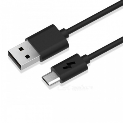 2A Micro USB Charging and Data Transfer Cable for Xiaomi, Huawei, LG and More - Black