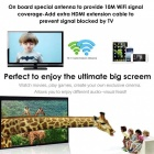 BLCR Wi-Fi Wireless 1080P Mini Display Receiver HDMI TV Miracast DLNA Airplay for IOS, Android, Windows, Mac